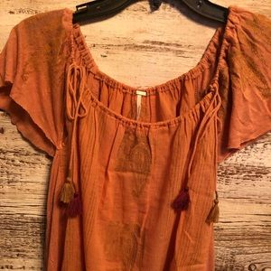New FREE PEOPLE Size Large Top